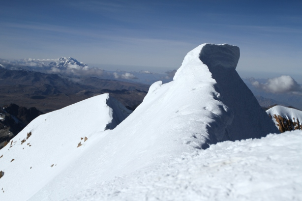 Dare you to walk over to that ridge...