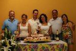 Casamento, foto com a família