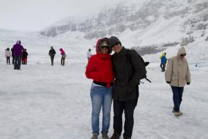 Conhecendo um Glaciar em Jasper, Canadá