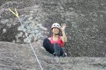 Conquistando um cume em Pedra Bela, SP