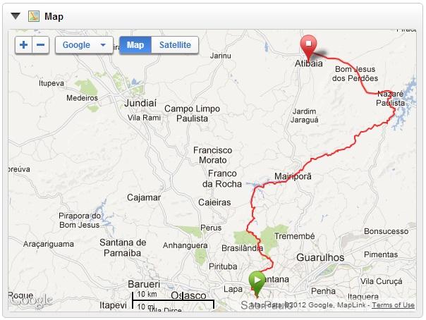 Atibaia map