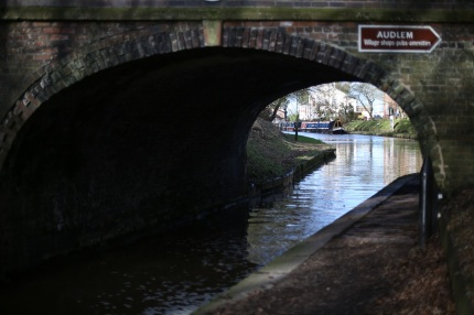 Canal at Audlem