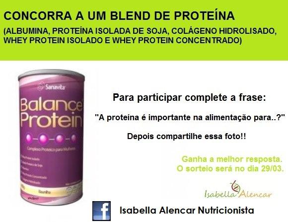 Promoção Blend de Proteína