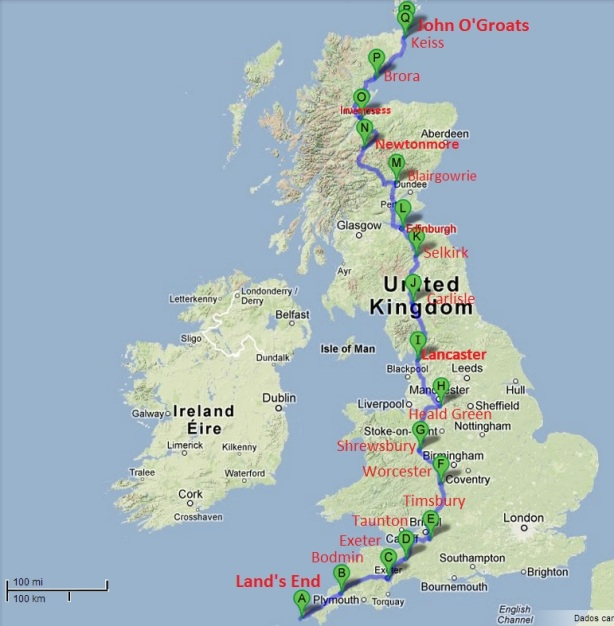 1,480km in cycling through the British winter