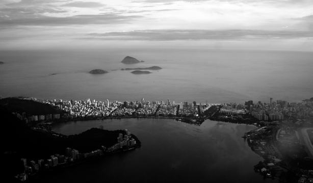 A view over Rio from the Corcovado - lovely city!