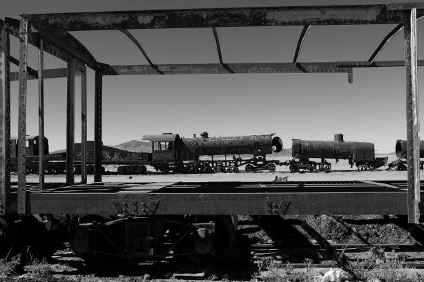 The Train Cemetary - Bolivia